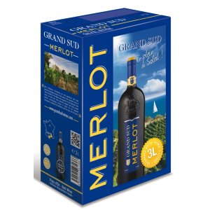 Grand Sud Merlot 3,0l Bag in Box