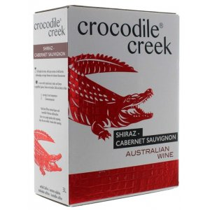 Crocodile Creek Shiraz / cabernet Sauvignon 3,0l BiB